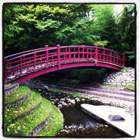 Photo taken at Jardins Albert Kahn by Aurelia B. on 7/29/2012