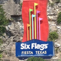Photo taken at Six Flags Fiesta Texas by Xochitl L. on 6/23/2012
