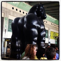 Photo taken at Terminal 2B by Julia S. on 8/17/2012