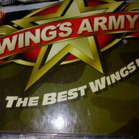 Photo taken at Wings Army by Alan C. on 3/21/2012