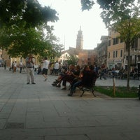 Photo taken at Campo Santa Margherita by Tommy D. on 6/6/2012