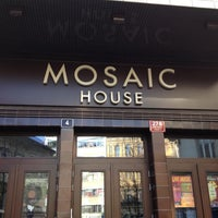 Photo taken at Mosaic House by Marcos M. on 3/21/2012