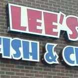 Photo taken at Lee's Chicken and Catfish Shack by Rachel M. on 3/19/2012