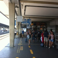 Photo taken at Venezia Mestre Railway Station (XVY) by Andrea U. on 8/9/2012