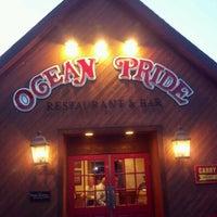 Photo taken at Ocean Pride Restaurant & Bar by Cara J. on 6/21/2012