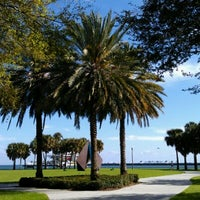 Photo taken at Vinoy Park by Michael B. on 2/14/2012