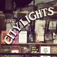 Photo taken at City Lights Bookstore by minty on 9/1/2012