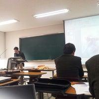 Photo taken at 단국대학교 상경관 by Daihkim K. on 3/10/2012
