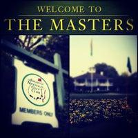 Photo taken at Augusta National Golf Club by Rebekah C. on 4/8/2012