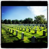 Photo taken at Arlington National Cemetery by Kristen👸🏻 B. on 5/18/2012