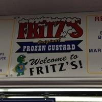 Photo taken at Fritz's Frozen Custard by Christopher P. on 7/7/2012