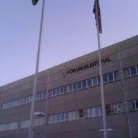 Photo taken at Tribunal Regional Eleitoral do Paraná by WALLACE B. on 5/9/2012