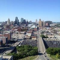 Photo taken at Sheraton Kansas City Hotel at Crown Center by jennifer p. on 4/20/2012