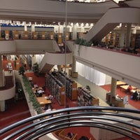 Photo taken at Toronto Public Library - Toronto Reference Library by anna h. on 2/22/2012