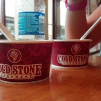 Photo taken at Cold Stone Creamery by Morgan S. on 7/13/2012