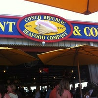 Photo taken at Conch Republic Seafood Company by April S. on 4/12/2012