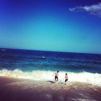 Photo taken at Praia da Barra de Maricá by Paulo H. on 8/18/2012