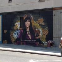 Photo taken at Big Ang Mural by Jill M. on 7/4/2012