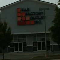 Photo taken at Tile Factory Outlet by Angel B. on 4/20/2012