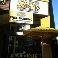 Photo taken at Which Wich? Superior Sandwiches by Jason T. on 6/23/2012