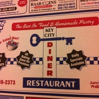Photo taken at Key City Diner by Missy C. on 3/18/2012