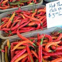 Photo taken at Midtown Farmer's Market by Gai Gai Thai on 8/8/2012