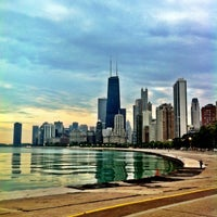 Photo taken at Chicago Lakefront Trail by Brittney A. on 8/15/2012