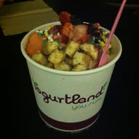 Photo taken at Yogurtland by Shannon on 7/23/2012