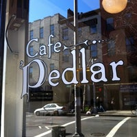 Photo taken at Cafe Pedlar by Keisha R. on 2/26/2012