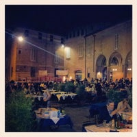 Photo taken at Piazza Verdi by Enrico G. on 6/1/2012
