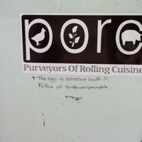 Photo taken at PORC (Purveyors Of Rolling Cuisine) by Gary S. on 2/10/2012