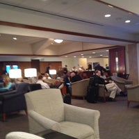 Photo taken at Delta Sky Club by Benjamin P. on 3/22/2012