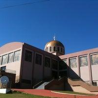 Photo taken at Santuário Basílica do Divino Pai Eterno by Hudson A. on 6/11/2012