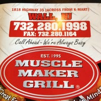 Photo taken at Muscle Maker Grill by Larry W. on 3/23/2012