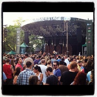 Photo taken at Central Park SummerStage by Jeff M. on 8/6/2012