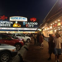 Photo taken at Maine Avenue Fish Market by Patrick F. on 6/3/2012