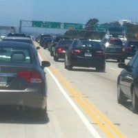 Photo taken at Interstate 405 (San Diego Freeway) by amie m. on 6/30/2012