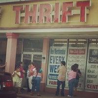 Photo taken at family thrift center by Rashida J. on 7/22/2012