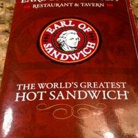 Photo taken at Earl of Sandwich by Reggie L. on 7/25/2012