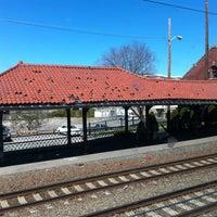 Photo taken at MBTA Attleboro Station by Tony on 4/7/2012