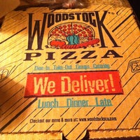 Photo taken at Woodstock's Pizza by Tracy P. on 6/29/2012