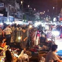 Photo taken at Chiang Rai Walking Street by Kitsaboy K. on 2/25/2012