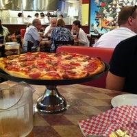 Photo taken at Metro Pizza by Mel B. on 7/31/2012