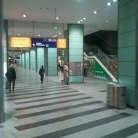 Photo taken at Bahnhof Berlin Friedrichstraße by Thomas P. on 8/23/2012