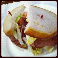Photo taken at Mendy's Kosher Delicatessen by Sameer on 3/30/2012