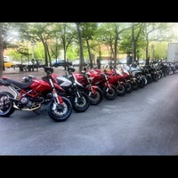 Photo taken at Ducati Triumph New York by Dre J. on 4/28/2012