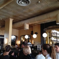 Photo taken at Brasserie M&R by Dillon I H. on 2/21/2012