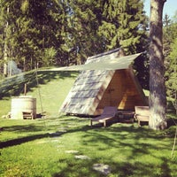 Photo taken at Camping Bled by Ales P. on 4/28/2012