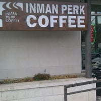 Photo taken at Inman Perk Coffee by Marcus on 3/4/2012