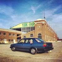 Photo taken at York Fairgrounds & Expo Center by Matt S. on 3/28/2012